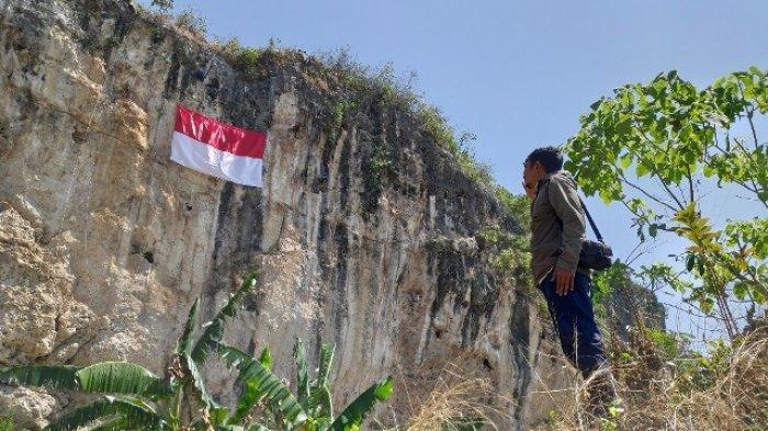 Gairahkan Wisata 4 Tebing Di Jawa Timur Jadi Jujugan Pengibaran Sang Saka Merah Putih