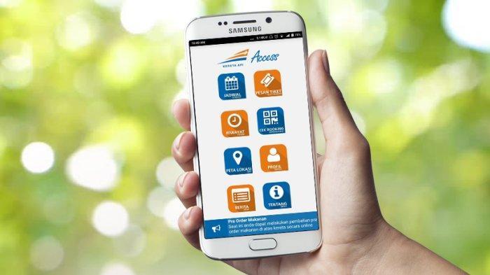 Maintenance, Layanan Pembelian Tiket Kereta Lewat Aplikasi KAI Access Akan Tak Bisa Diakses 1 Jam