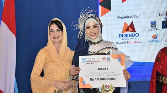 Batik Turonggo Yakso dan Van Dilem Antar Trenggalek Juara Pertama Gelar Kriya Dekranasda Jatim 2020
