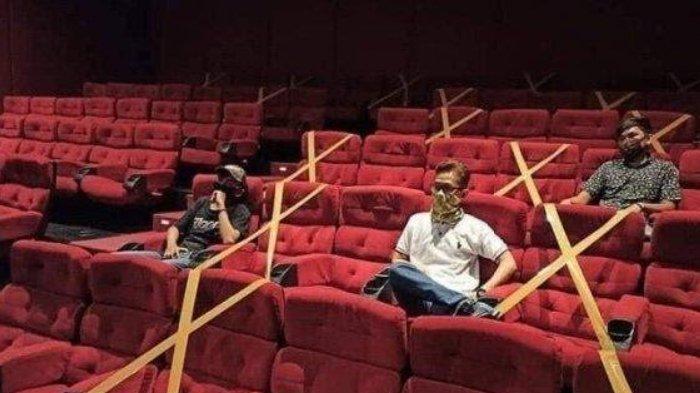 Bioskop di Surabaya Mulai Buka, Pengunjung Diimbau Patuhi Protokol Kesehatan