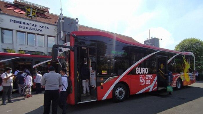 Suroboyo Bus Tambah 8 Armada Anyar Kini Bisa Bayar Langsung Non Tunai. Ini Trayek Terbarunya