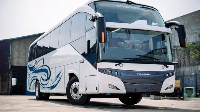 Bus Baru Nuansa Eropa Dengan Desain Unik Ternyata Dibuat Karoseri di Bandung