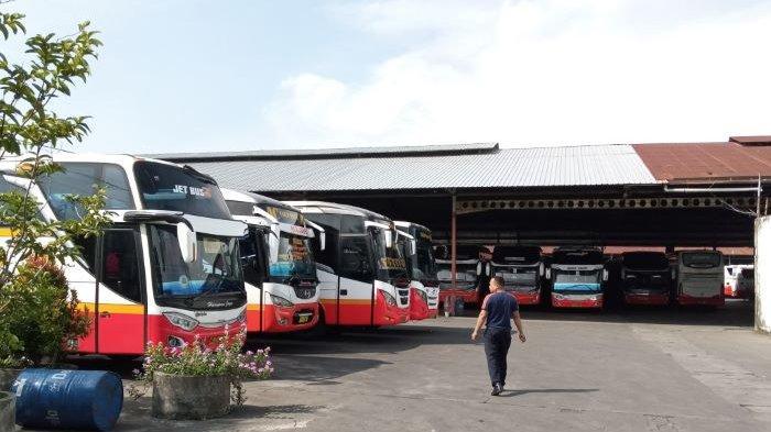 PSBB di Surabaya 280 Bus Harapan Jaya Berhenti Operasi, Ratusan Awak Bus Dirumahkan Sementara
