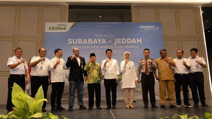 Citilink Buka Rute Surabaya - Jeddah, Target Terbangkan 100.000 Jamaah Umroh Selama 2020
