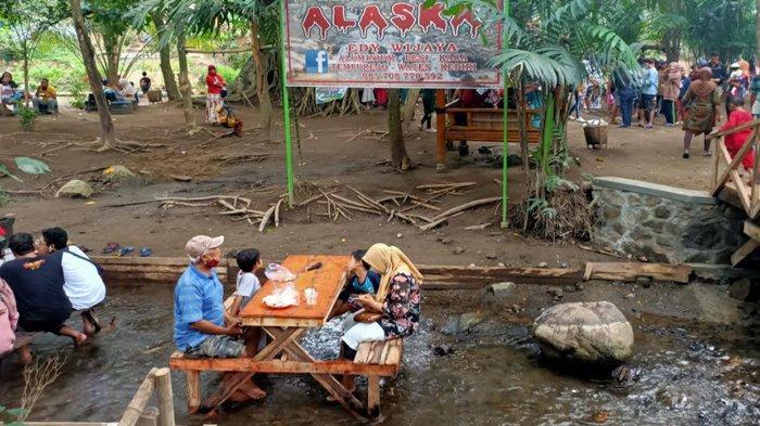 Liburan di Wisata Desa Alaska Wates Kediri, Pengunjung Hanya Diminta Tarif Seikhlasnya