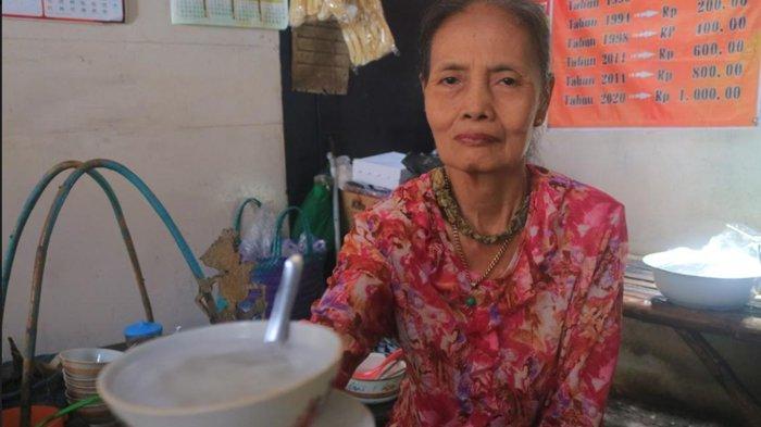 36 Tahun Berjualan, Harga Es Dawet Bu Matun di Ponorogo Cuma Seribu Perak