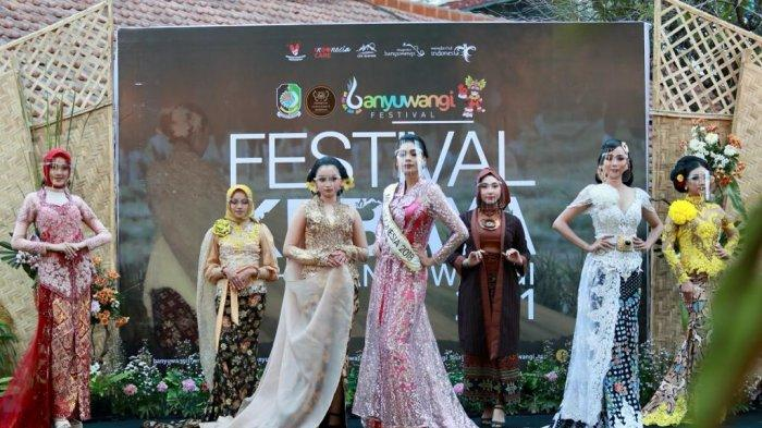 Kembali Gerakkan Sektor Kreatif, Banyuwangi Gelar Festival Kebaya