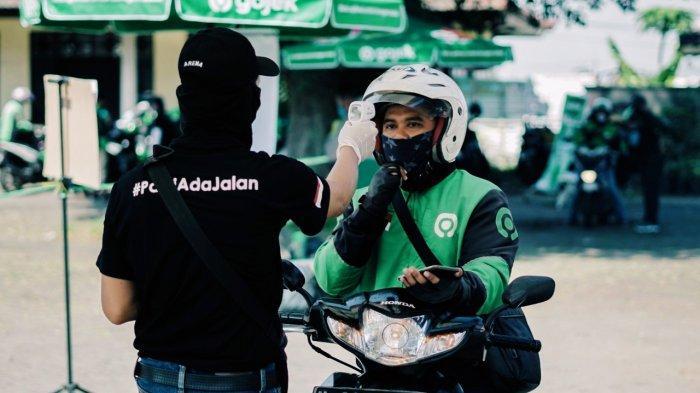 Gojek Layani Go Ride Dilengkapi Aplikasi Fitur Pengecekan Suhu Tubuh Dan 130 Posko Aman
