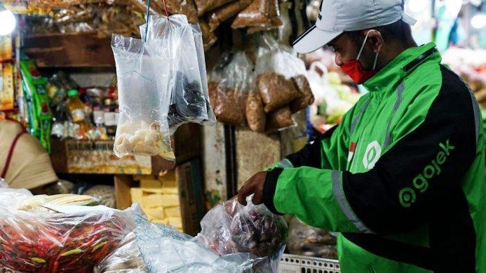 Belanja di Pasar Tradisional Bisa juga Lewat GoShop PD Di Pasar Surya Ada 10 Pasar Tradisional