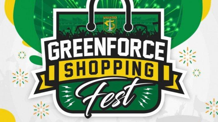 Green Force Shopping Festival 1200 Pcs Jersey Anniversary Persebaya ke-93 Ludes Dalam 3.5 Jam