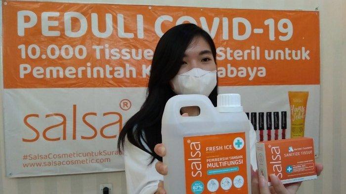 Tidak Ada PHK Perusahaan Kosmetik Ini Banting Stir Bikin Tisu Basah dan Hand Sanitizer