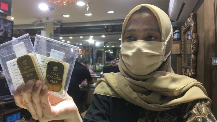 Di Tengah Pandemi Covid-19 Harga Emas Makin Kinclong Emas Batangan Tembus Rp 961.000 per gram
