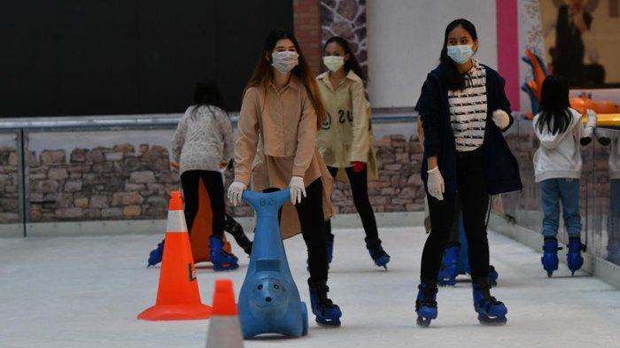 20 Tahun Ice Skating Grand City Mall Surabaya, Berikan Nuansa Berbeda di Tengah Pandemi