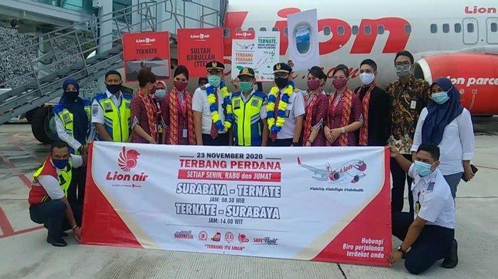 Jadwal Penerbangan Lion Air Tujuan Surabaya-Ternate (PP) yang Baru Dibuka 23 November 2020