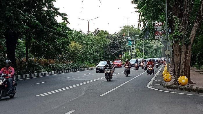 Distancing Social Sejumlah Jalur Protokol di Surabaya dan Sidoarjo Hari Ini Di Tutup Sementara