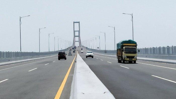 Jembatan Suramadu Ditutup Ternyata kabar Itu Tidak Benar, Ini Kata Kapolres Bangkalan