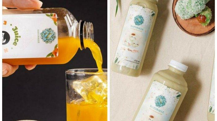 Juice Empon Empon Peningkat Imun Tubuh dan Susu Almond Rasa Klepon  Cocok Untuk Buka Puasa