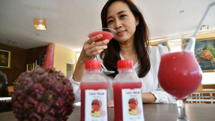 Juice Honje Buah Kecombrang, Tanaman Liar Ini Bisa Jadi Minuman Kaya Serat Dan Antioksidan