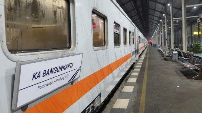 KA Bangunkarta Kini Kembali Berangkat Dari Stasiun Jombang