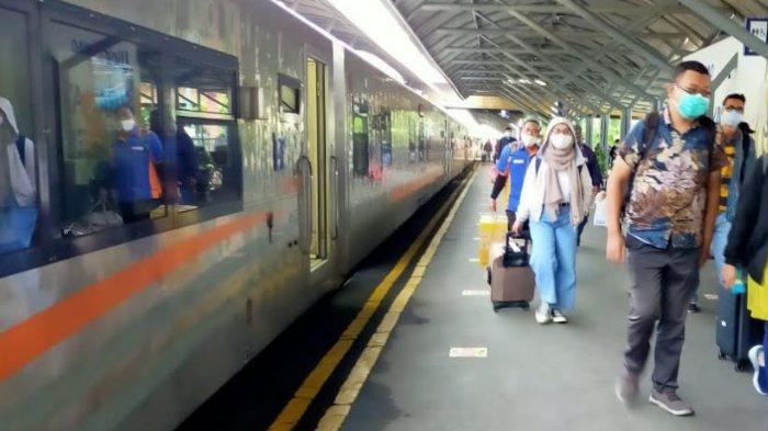KA Mutiara Timur Kini Sampai Stasiun Yogyakarta
