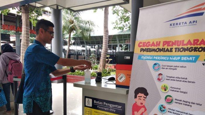 Antisipasi Dini Virus Corona 4 Stasiun KA Wilayah Daop 8 Buka Posko Kesehatan dan Rail Clinic
