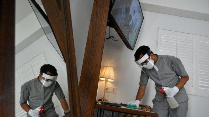 Protokol Kesehatan Ketat Kampi Hotel Surabaya Buka Kembali Dan Siap Terima Tamu