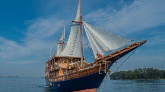 Kapal Wisata Augustine Phinisi Berlayar di Kepulauan Seribu, Tarif Sunset Trip Rp 2 Juta