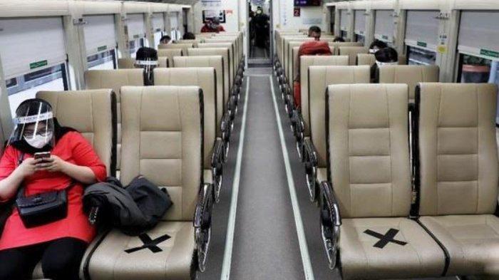 Syarat Dan Aturan Baru Naik Kereta Api Masa PPKM Level 4 Diperpanjang Wajib Tunjukkan Kartu Vaksin