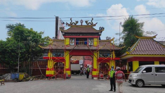 Berdiri Sejak 1852  Klenteng Eng An Kiong Di Kota Malang Direnovasi