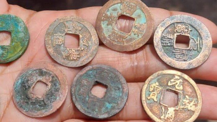 Temuan Koin Kuno Di Lamongan DiperkirakanDari Dinasti Song Tiongkok Abad 10-12 Masehi