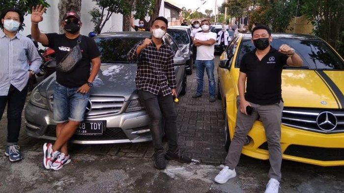 Dukung Kebangkitan Pariwisata, KomunitasMercedes Benz W 204 Touring Keliling Jawa