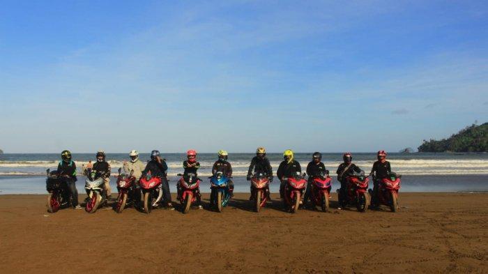 Komunitas Ninja Surabaya Touring Perdana  Ke Bendungan Wonorejo  Tulungagung