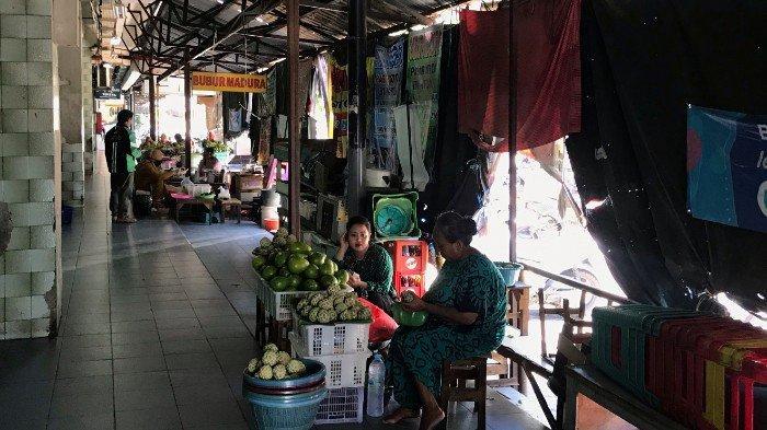 Wisata Jajanan Tradisional di Pasar Atom terimbas Virus Corona Tinggal 2 Lapak Lainnya Tutup
