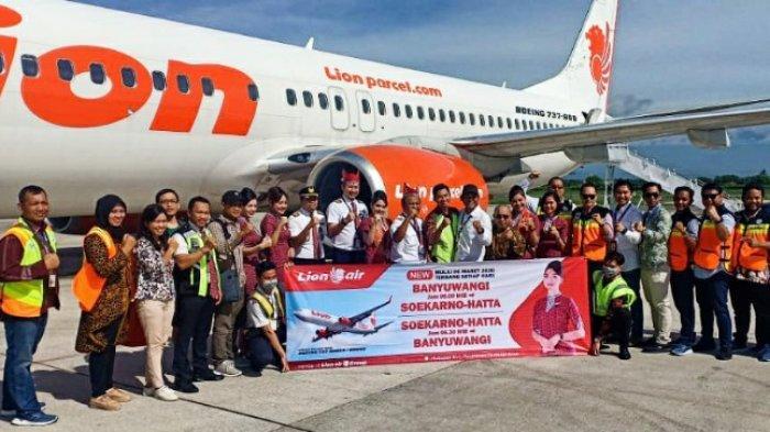 Lion Air Kini Layani Banyuwangi – Bandar Udara Soekarno Hatta Jakarta PP Nonstop 7 Kali Seminggu