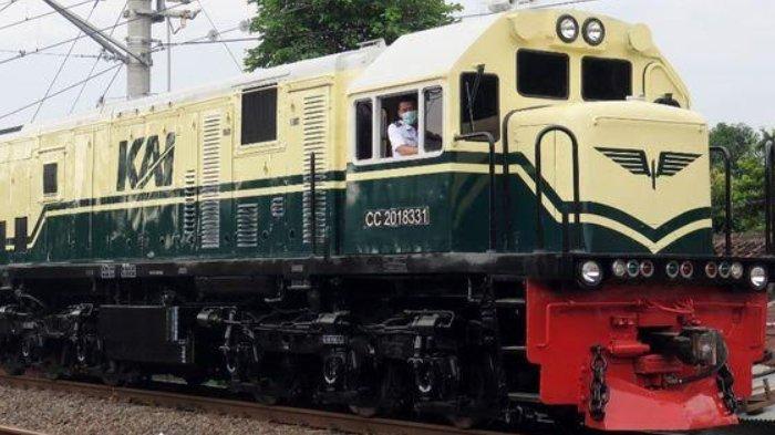 PT KAI Kembali Menampilkan Livery Lokomotif Jadul Tahun 1953