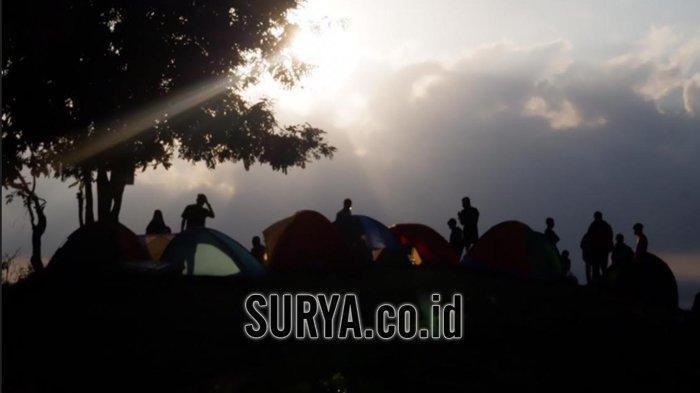 Menikmati Paket Lengkap Sunrise dan Sunset di Bukit Sewu Sambang Banyuwangi, Anak Senja Pasti Suka