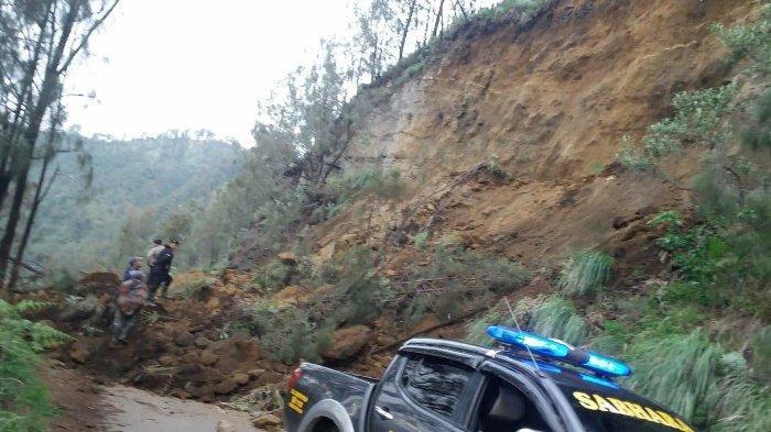 Travelers Mau Ke Gunung Bromo Lewat Tosari, Perhatikan Jalur Ini Tertutup Materialan Longsor