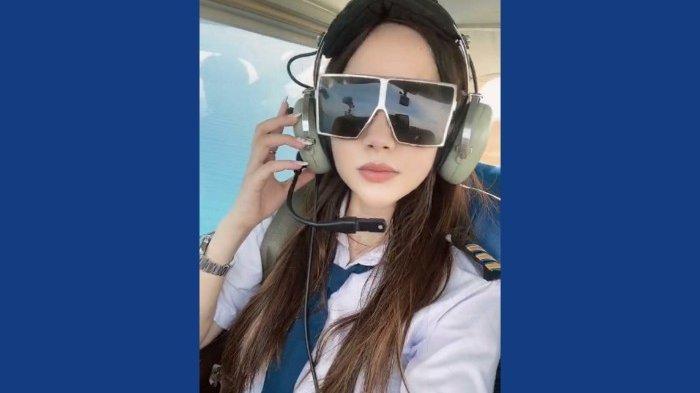 Luxiediandra Sosialita Cantik Ini Sukses Terbangkan Cessna 172 Skyhawk