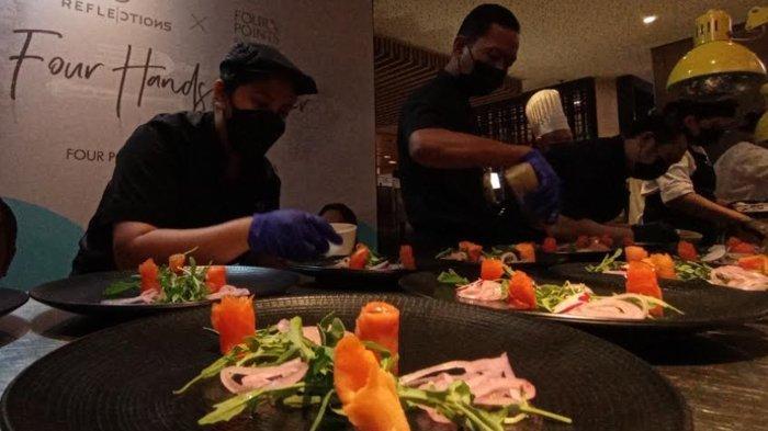 Kolaborasi Kuliner Artisan Kreasi Chef Chandra Yudasswara Bisa Dinikmati di Four Points Surabaya