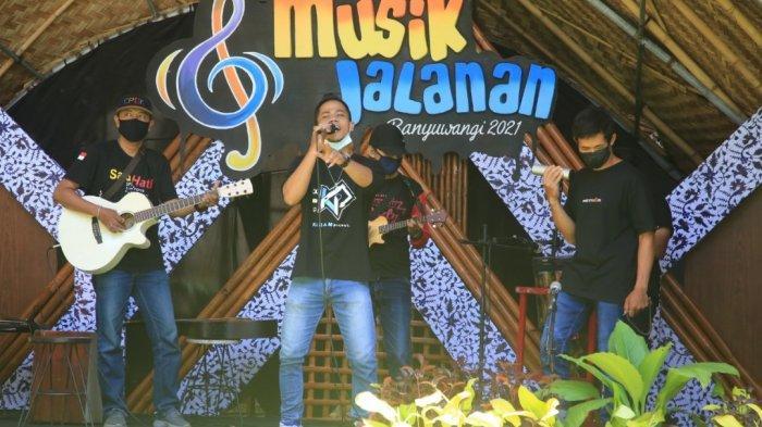 Musisi Jalanan Antusias di Festival Musik Jalanan Banyuwangi