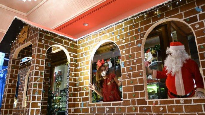 Christmas Market Ala Eropa di Shangri-La Hotel Surabaya, Ada Rumah Jahe Raksasa dari 200 Kg Tepung