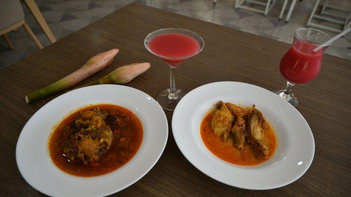 Olahan Tanaman Kecombrang Pindang Buntut dan Ayam Lodho Lezat Plus Menyenangkan