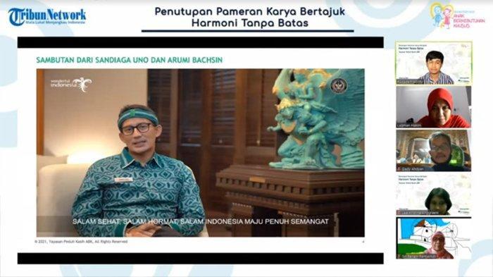 Sandiaga Uno Ingin Pameran Harmoni Tanpa Batas Jadi Momentum Kebangkitan Ekonomi Kreatif Indonesia