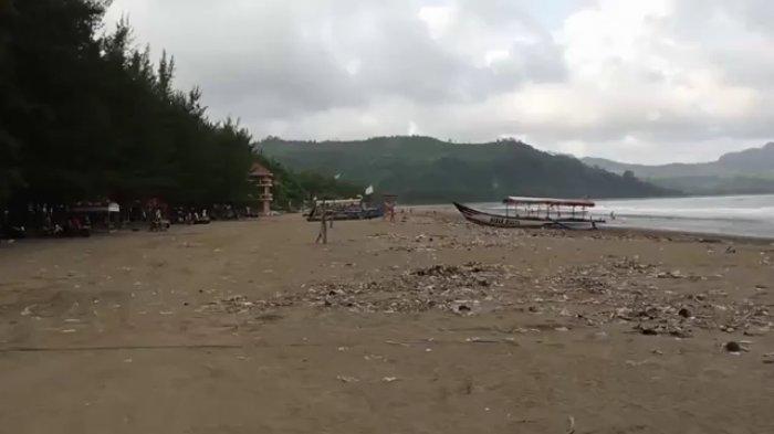 Pelaku dan Pengelola Wisata Pantai Gemah Tulungagung Terkapar Berharap Kondisi Pulih Kembali