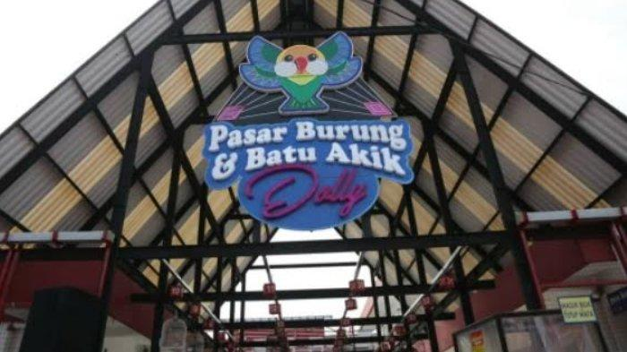 Di Bekas Kawasan Lokalisasi Dolly Surabaya Kini Ada Sentra Pasar Burung dan Batu Akik