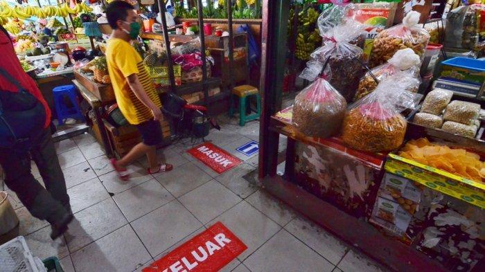 Jadi Pasar Percontohan Pasar Genteng Baru Surabaya Terapkan  One Way System