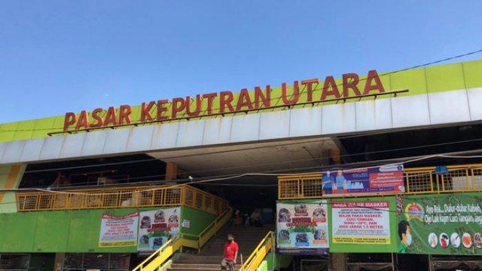 Pasar Sayur Keputran Surabaya Di Tutup Sejumlah Orang Terpapar Virus Covid-19