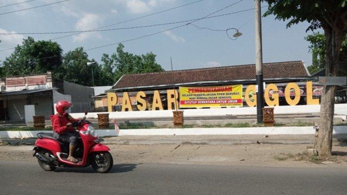 Ikon Wisata Kuliner Pasar Senggol Tulungagung Tutup Selama PPKM Darurat