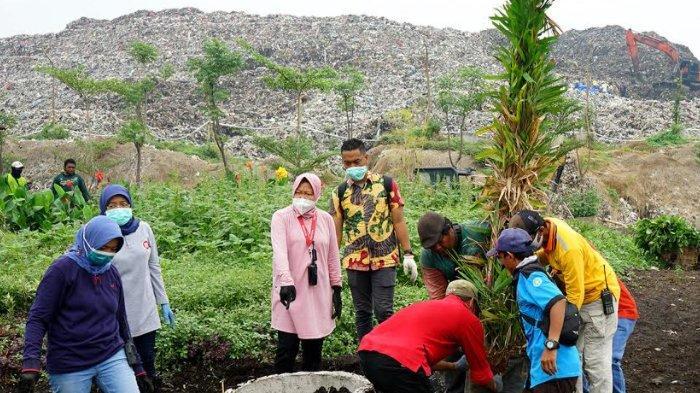 Kawasan Sekitar TPA Benowo Surabaya Bakal Disulap Jadi Kawasan Hijau Dengan Taman Cantik