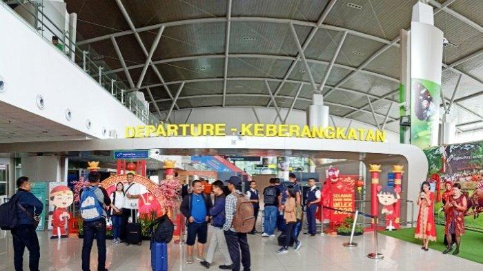 Libur Imlek Penumpang di Bandara Internasional Juanda Naik Sedikit Dibanding Hari Biasa
